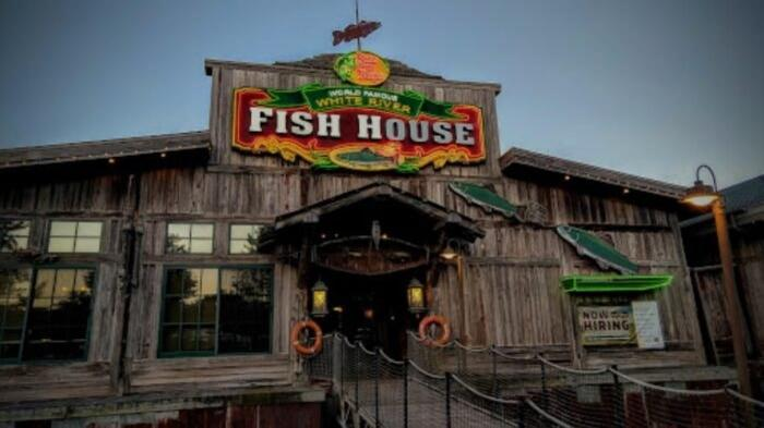Cover for Dine Right On The Water At The Rustically Charming White River Fish House In Missouri