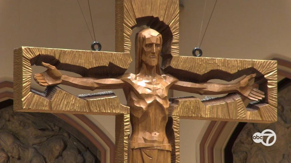Picture for Archdiocese of Chicago holds Sunday Mass at Holy Name Cathedral