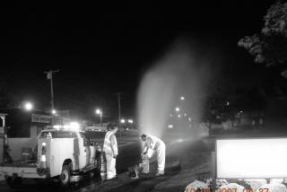 Picture for Hydrant Flushing Program