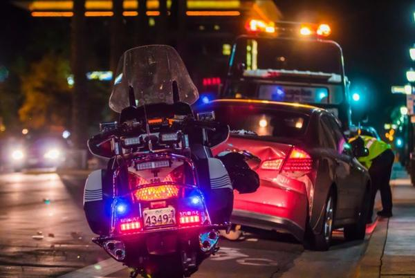 Picture for Officer Hurt in Motorcycle Crash on South Coast Highway [Oceanside, CA]