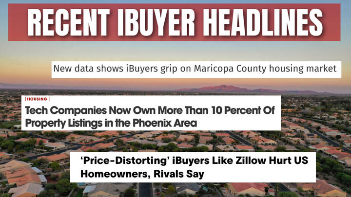 Cover for iBuyers are a hot topic right now here in Phoenix