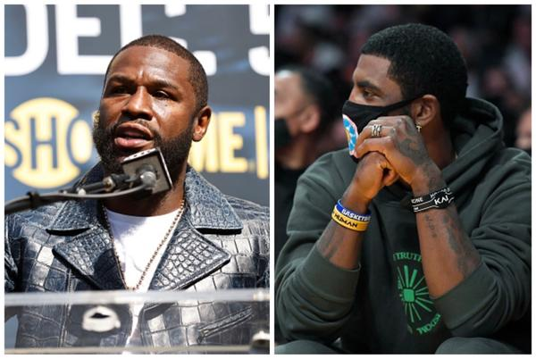 Picture for Here's what Floyd Mayweather said about Kyrie Irving's vaccine stance