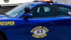 Cover for Missouri woman hospitalized after rear-end crash