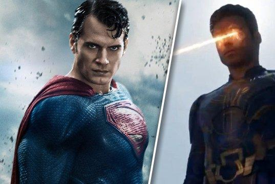 Picture for Eternals confirms Superman exists in the MCU