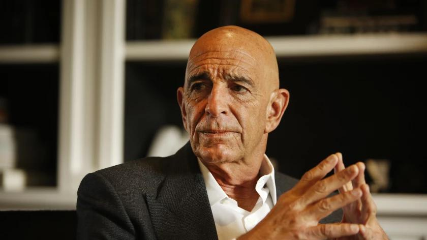 Picture for Column: Lazy TV news interviewers were Tom Barrack's willing enablers