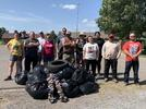 Picture for Treatment Court participants conduct clean up at Foss Lake