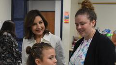 Cover for Oklahoma State Superintendent Joy Hofmeister visits Shawnee Adventure Academy