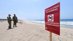 Cover for Bacteria At Some Beaches Near Dockweiler Continues To Exceed State Standards