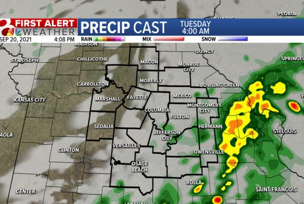 Picture for Forecast: Tracking evening storms and fall temperatures