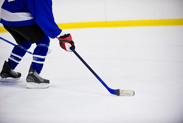 Picture for Program started by player's dad benefits girls hockey
