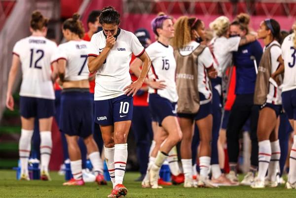 Picture for Olympics loss to Canada could mean end of era for Carli Lloyd and USWNT