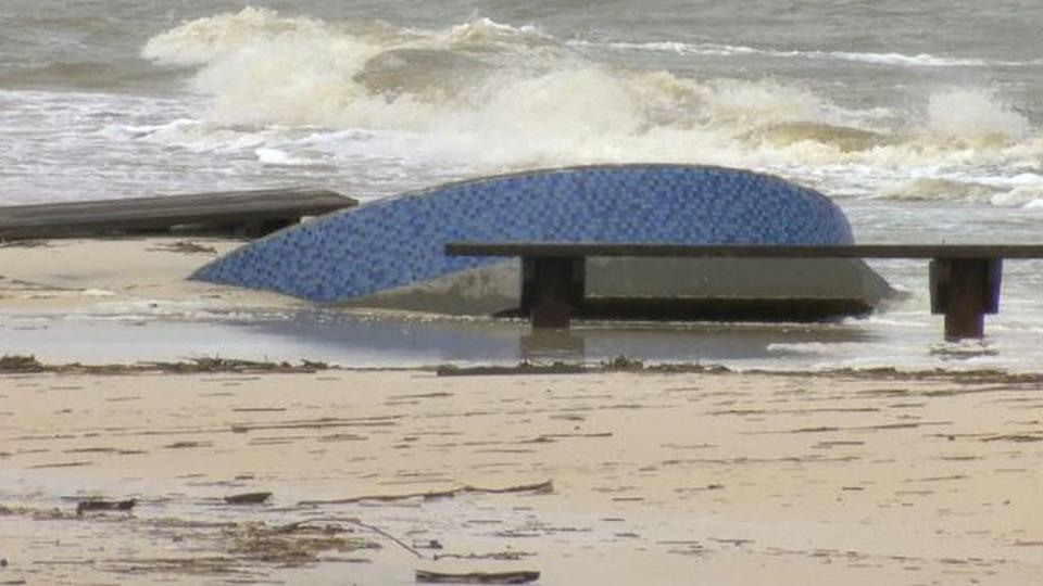 South Mississippi Beaches In Disrepair After Tropical Storm News