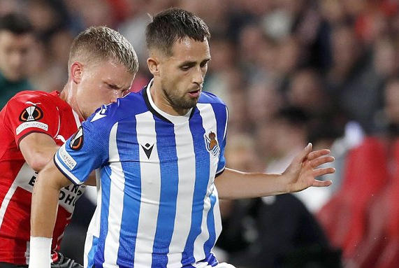Picture for Real Sociedad winger Januzaj on PSV draw: Losing Silva hurt us