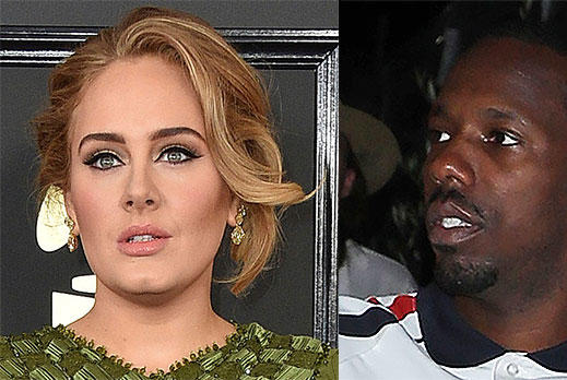 Picture for Adele & BF Rich Paul Head To In-N-Out For Burgers & Shakes On Casual Week Day Date — Photos