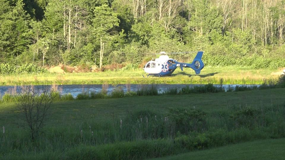 Picture for Troopers: Motorcyclist airlifted from scene of serious crash in Steuben