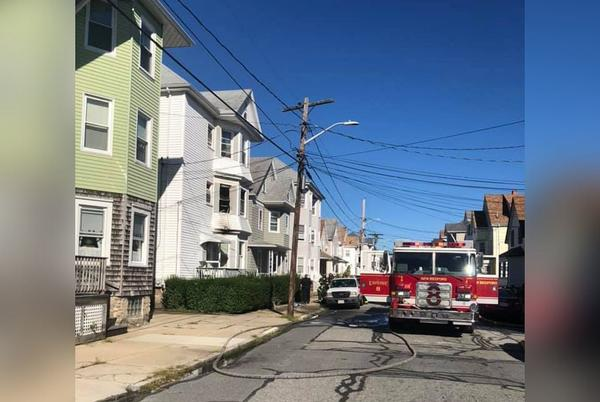 Picture for New Bedford Fire Hospitalizes Two, Displaces Seven