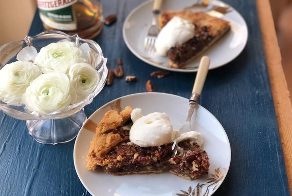 Picture for It's the perfect time of year for indulgent, bourbon-spiked chocolate pecan pie