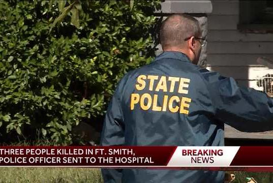 Picture for Three people killed in Fort Smith, officer underwent surgery