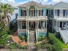Picture for There's a Blazing Blue Victorian for Sale in Texas — And It Has an Equally Blue Swimming Pool
