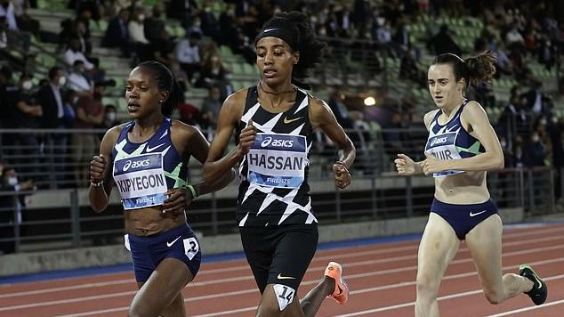 Picture for Laura Muir boosted by her second quickest 1500m ever in run-up to Tokyo Olympics but the Brit finishes behind rivals Sifan Hassan and Faith Kipyegon in Diamond League showdown