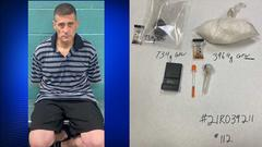 Cover for Repeat offender arrested by Redding police for possession of illegal drugs for sale