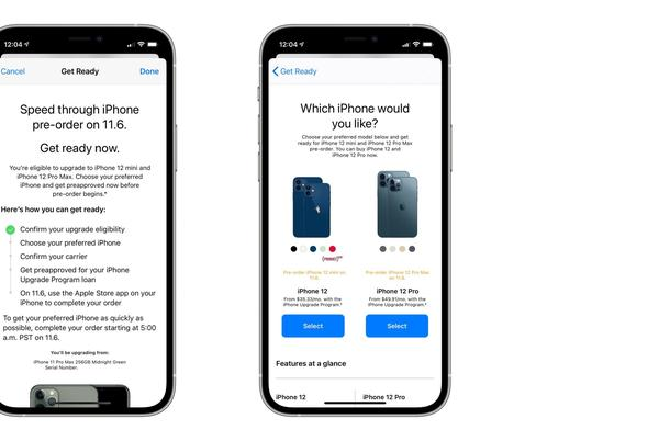 Picture for Apple now offering iPhone Upgrade Program pre-approvals for iPhone 12 mini and iPhone 12 Pro Max