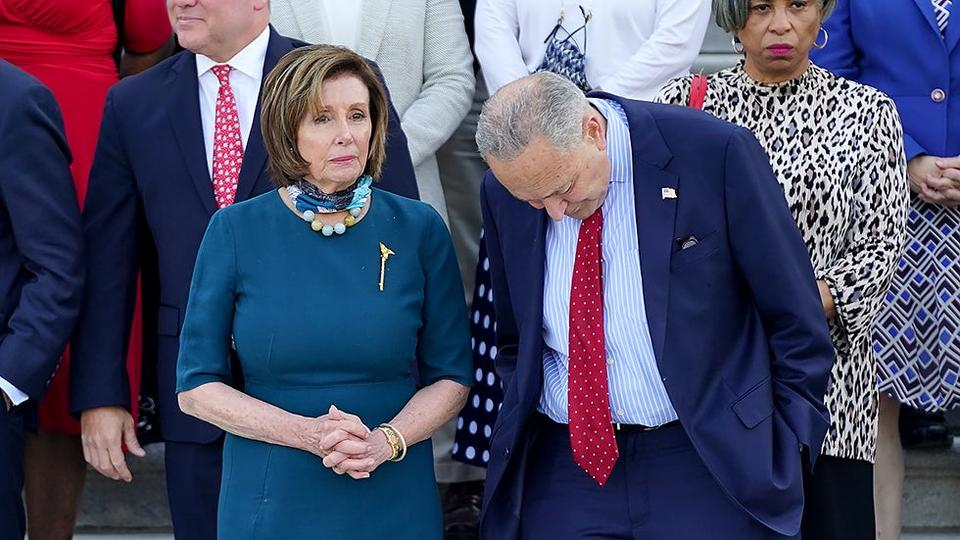 Picture for Democrats' narrow chance to retain control after 2022