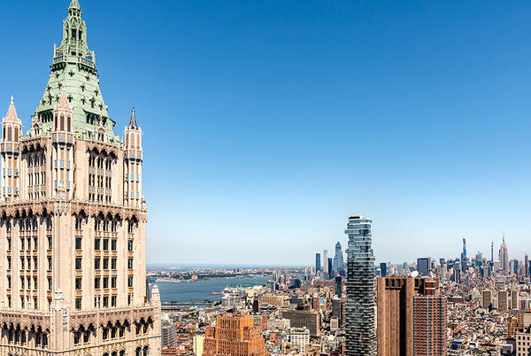 Picture for First Look: Inside the $79 Million, 5-Level Penthouse of NYC's Storied Woolworth Building