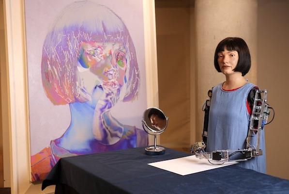 Picture for Egyptian Officials Detain Robot Artist Over Fears She May Be A Spy