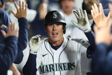 Picture for Mariners notebook: A season full of swing changes starting to pay off for Dylan Moore