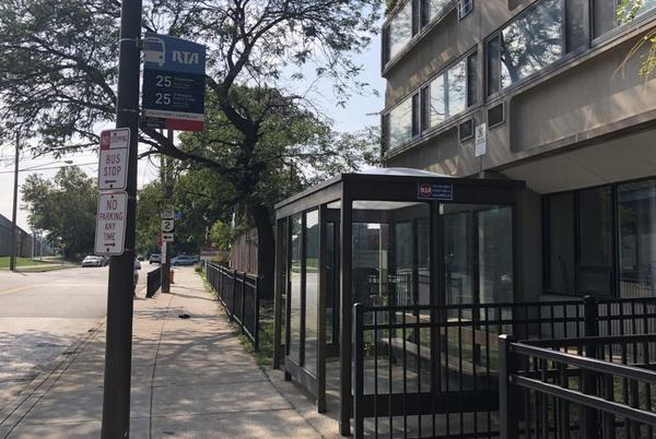 Picture for Unidentified man dies after being found shot inside RTA bus stop, Cleveland police say