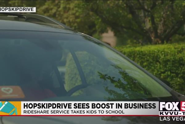 Picture for Rideshare company sees demand rise as school bus alternative amid driver shortage
