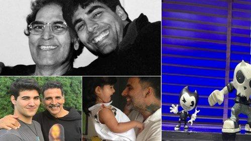 Picture for Shah Rukh Khan And Akshay Kumar Extend Wishes On Father's Day