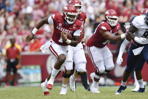 Picture for No. 16 Arkansas out to reset rivalry vs. No. 7 Texas A&M