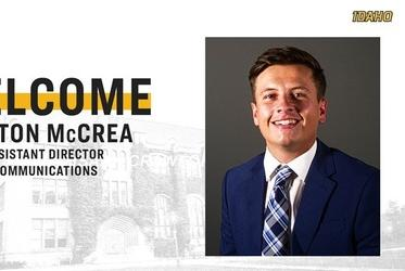 Picture for Idaho Athletic Communications Adds McCrea to Staff