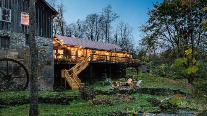 Picture for Stay The Night In A Repurposed 18th-Century Watermill At The Grist Mill Cabin In Virginia