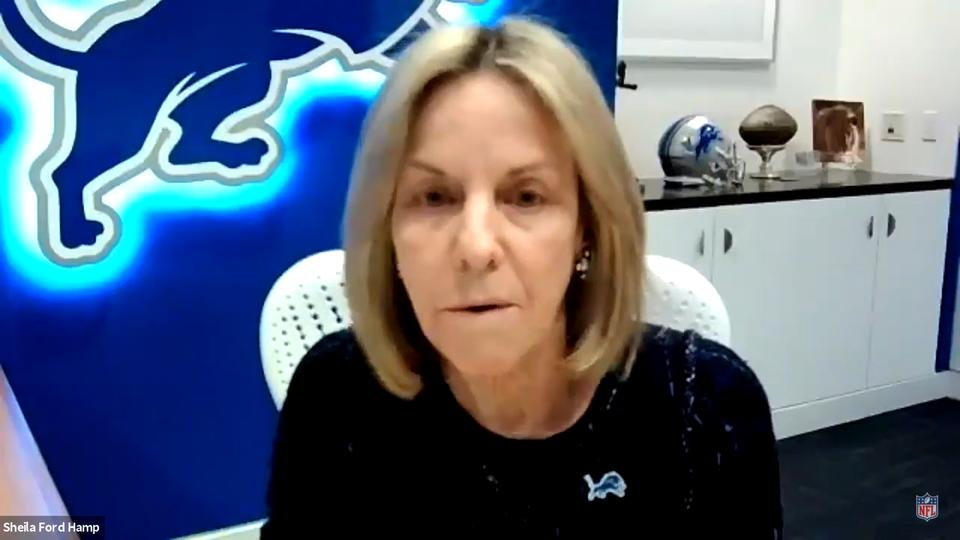 Picture for Detroit Lions owner Sheila Ford Hamp: Even former commissioner Pete Rozelle couldn't get me NFL job