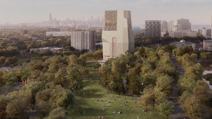 Cover for Obama Center Groundbreaking Today