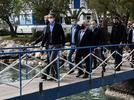 Picture for PM Kyriakos Mitsotakis Visits Corinth Canal