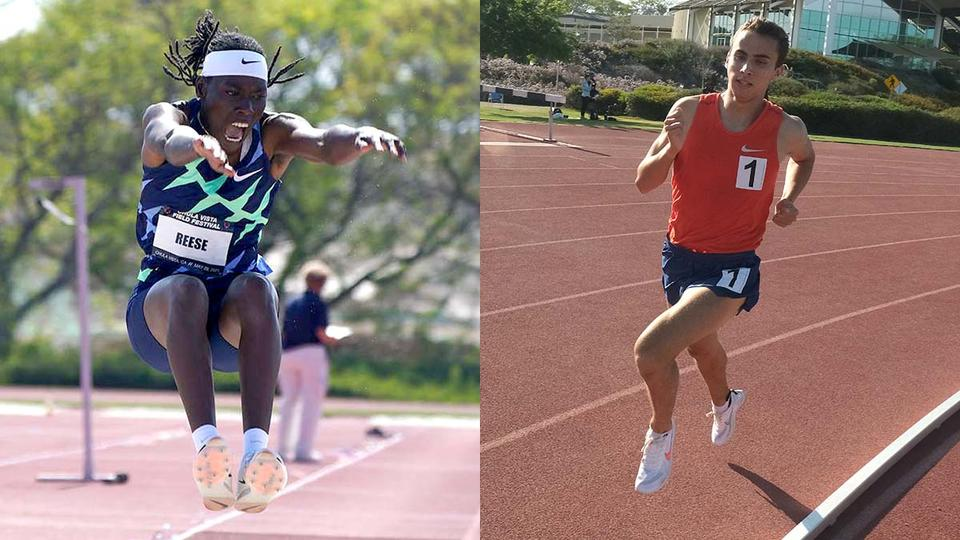 Picture for Tale of 2 Track Stars: San Diegans Brittney Reese and Joel Gomez Eye Tokyo Glory