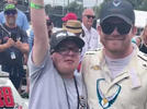 Picture for Conor Daly and fan with rare condition share bond