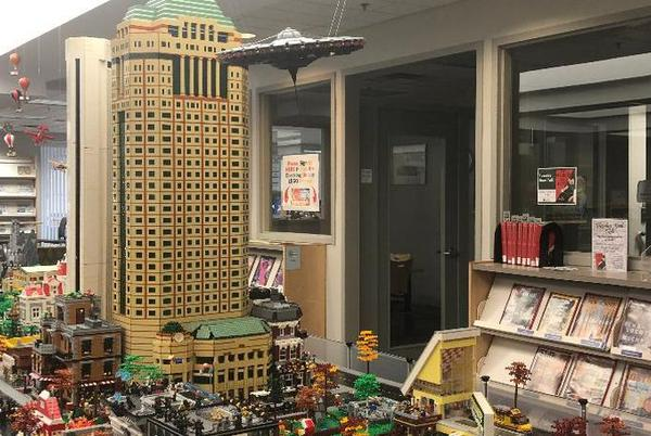 Picture for Library's LEGO exhibit builds interest in Urbana