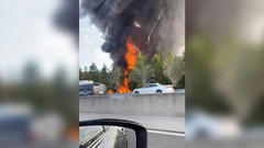 Cover for Driver Killed In Tanker Crash And Explosion Which Shutdown I-595 For Hours
