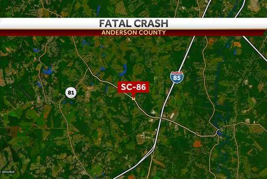 Picture for Coroner responds to crash in Anderson County