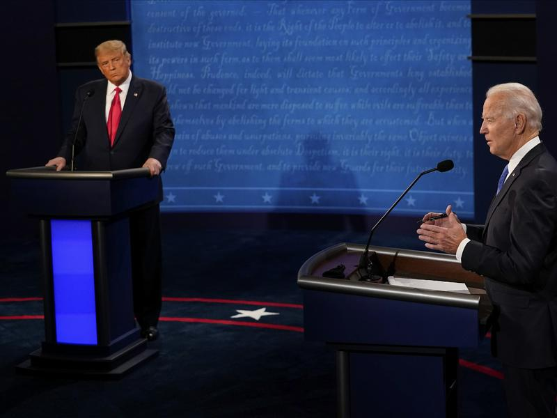 AP FACT CHECK: Falsehoods and fumbles in Trump-Biden debate   News Break