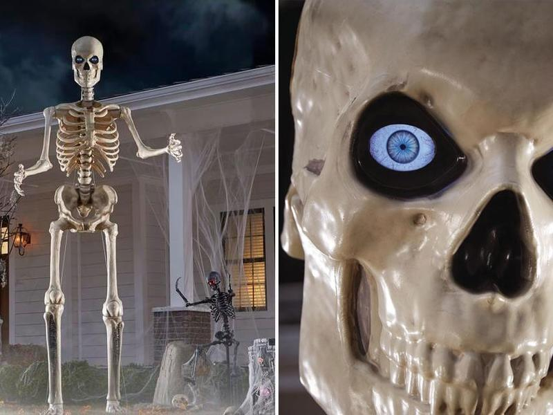 The Home Depot Is Selling A Massive 12 Foot Skeleton With Life Eyes So Hello Nightmares News Break