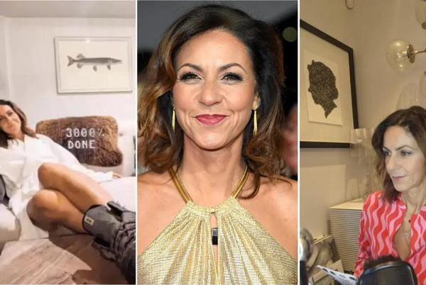 Picture for Julia Bradbury's family home is a sanctuary of calm