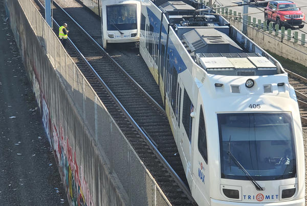 Picture for Some lines disrupted after MAX train derails in NE Portland