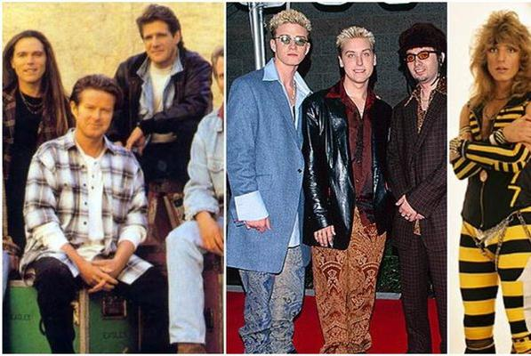 Picture for 1994 picture of the Eagles sparks a hilarious photo fight over the 'worst-dressed band'