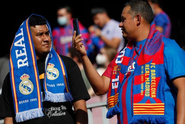 Picture for Inside Barcelona vs Real Madrid: Supporter chaos, Robokeepers and a crumbling Nou Camp